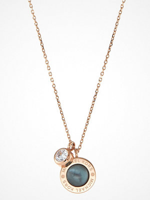 Smycken - Michael Kors LOGO Halsband roségoldcoloured