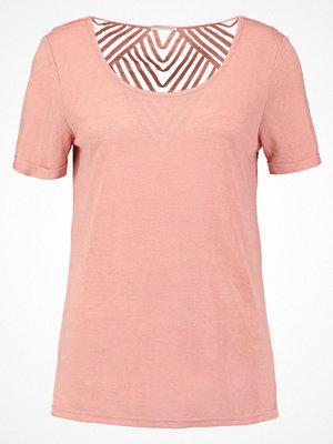 Vila VISUMI  Tshirt med tryck rose dawn