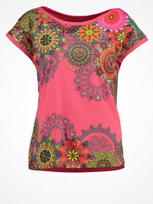 Desigual ARCANO Tshirt med tryck geranium