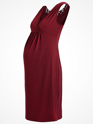 Anna Field MAMA Jerseyklänning burgundy