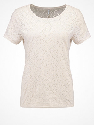 T-shirts - Only ONLMIRA  Tshirt med tryck pumice stone