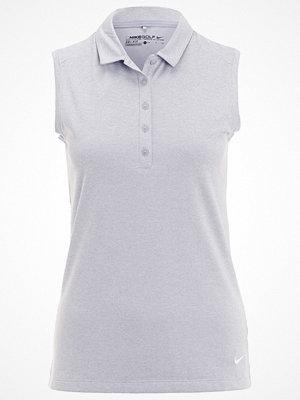 Pikétröjor - Nike Golf ICON Piké wolf grey heather/white
