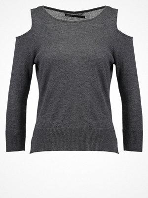 Only ONLCAPRICE Stickad tröja dark grey melange