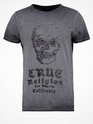 True Religion CALI SKULL Tshirt med tryck black