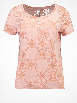 Only ONLMIRA  Tshirt med tryck rose