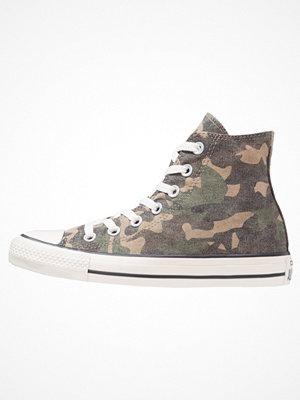 Sneakers & streetskor - Converse CHUCK TAYLOR ALL STAR Höga sneakers green/chocolate