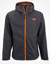 Regnkläder - The North Face SEQUENCE Hardshelljacka asphalt grey/exuberance orange