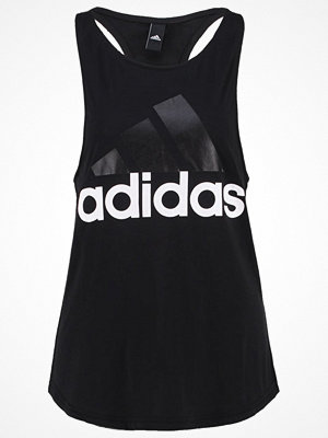 Adidas Performance ESSENTIALS LINEAR TANK Linne black/white