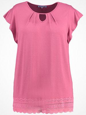 Anna Field Curvy Tshirt med tryck rose wine