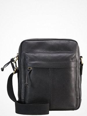 Väskor & bags - Fossil DEFENDER Axelremsväska black