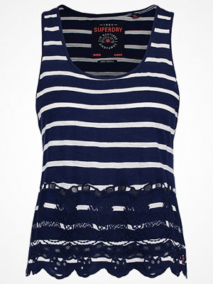 Superdry Linne navy/white