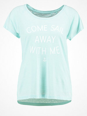 Esprit Sports SAIL AWAY WITH ME Tshirt med tryck light turquoise