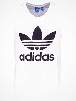 Linnen - Adidas Originals TREFOIL Linne white