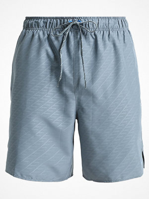 Nike Performance CORE EMBOSS Surfshorts blue graphite