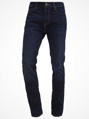 Jeans - Abercrombie & Fitch Jeans slim fit dark blue denim