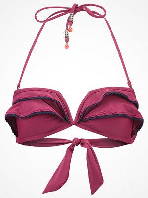 Beachlife DAZZLING Bikiniöverdel red plum
