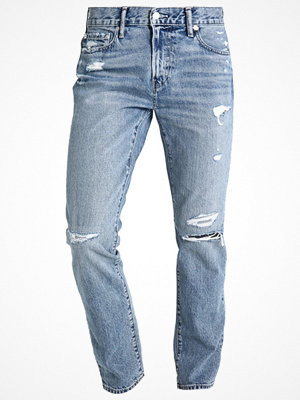 Jeans - Abercrombie & Fitch Jeans slim fit destroyed light denim