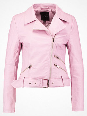 New Look Jacka i konstläder light pink