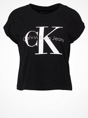 Calvin Klein Jeans TAKA Tshirt med tryck black