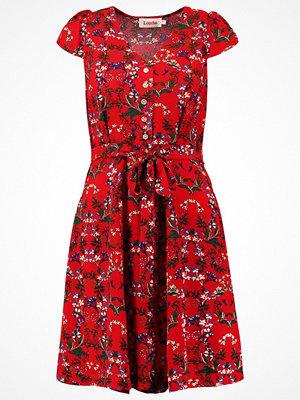 Louche CATHLEEN FLORA  Skjortklänning red