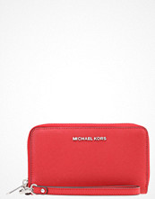 Plånböcker - MICHAEL Michael Kors JET SET TRAVEL Plånbok bright red