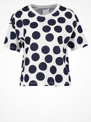 Only ONLDOTS Tshirt med tryck cloud dancer/total eclipse