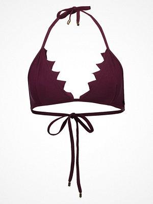 Lilliput & Felix PLIE  Bikiniöverdel maroon/maroon marble