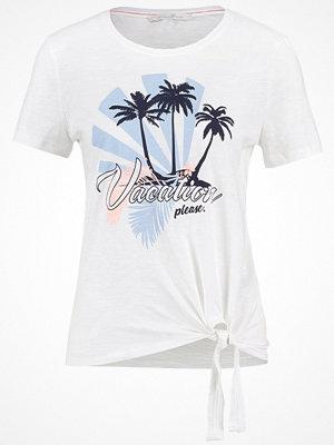 Tom Tailor Denim Tshirt med tryck off white