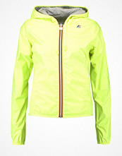 K-Way KWay Regnjacka yellow fluo