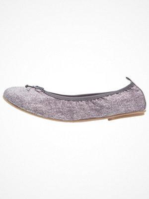 Tamaris Ballerinas denim/silver