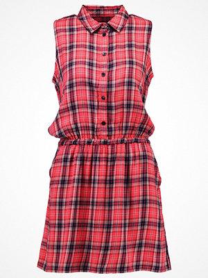 TWINTIP Skjortklänning red