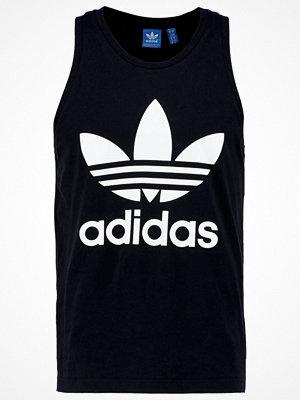 Linnen - Adidas Originals TREFOIL Linne black