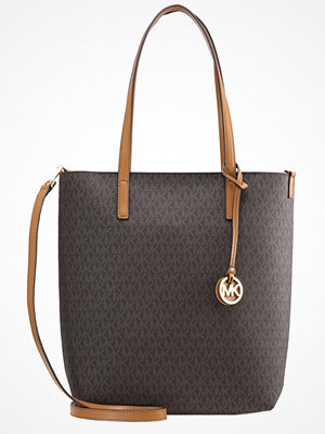 Handväskor - MICHAEL Michael Kors HAYLEY Handväska brown/acorn
