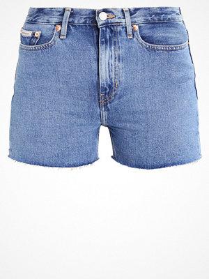 Calvin Klein Jeans HIGH RISE  Jeansshorts vintage light