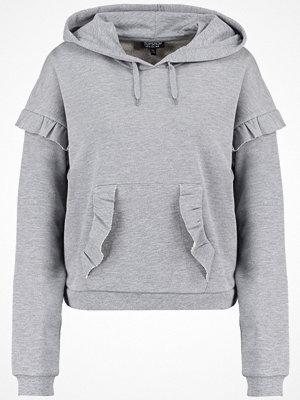 Street & luvtröjor - Topshop Sweatshirt grey marl