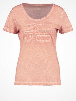 Napapijri SHOVE Tshirt med tryck tea rose