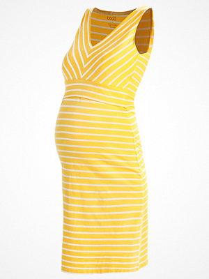 Boob SIMONE Jerseyklänning yellow, offwhite