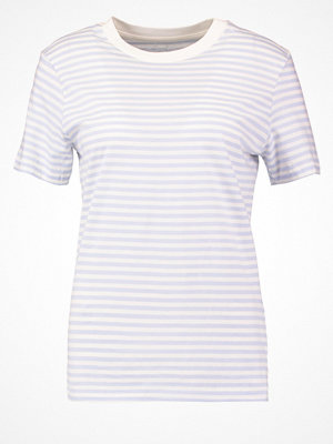 Selected Femme SFMY PERFECT Tshirt med tryck xenon blue