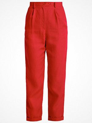 Topshop Tygbyxor red