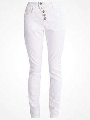 Jeans - Cream FRANCA Jeans slim fit chalk