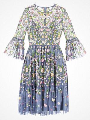 Festklänningar - Needle & Thread Cocktailklänning slate blue