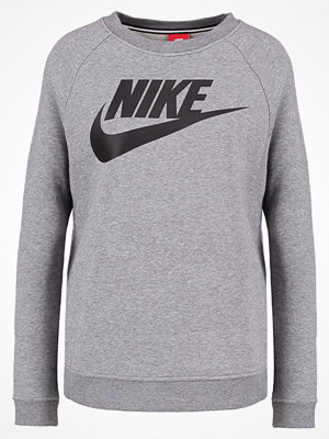 Tröjor - Nike Sportswear RALLY  Sweatshirt carbon heather/dark grey/black