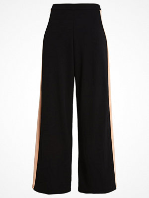 Missguided Petite Tygbyxor black/blush