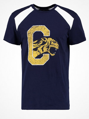 YourTurn Tshirt med tryck dark blue