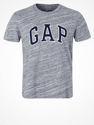 GAP ARCH TEE Tshirt med tryck space dye grey marl