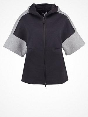 Adidas Performance Sweatshirt black/medium grey heather