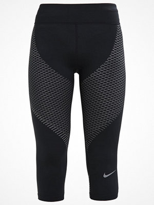 Sportkläder - Nike Performance ZONAL  Tights black/tumbled grey/reflective silver
