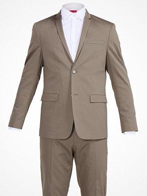 Kavajer & kostymer - Calvin Klein TABOR PARIS Kostym taupe