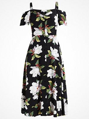 Warehouse MAGNOLIA Skjortklänning black