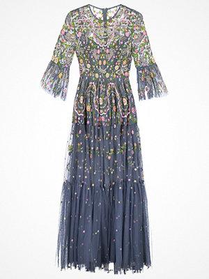 Needle & Thread Festklänning slate blue